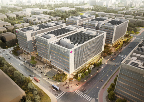 Research campus LG Science park in Seoul