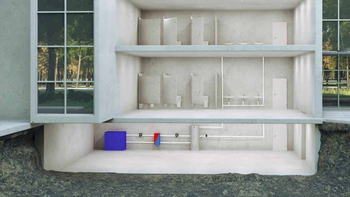 Trinkwarmwasser, TrinkwasserzirkulationTrinkwarmwasser, Trinkwasserzirkulation