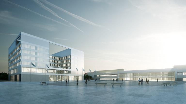 Wiloop Campus Dortmund office view