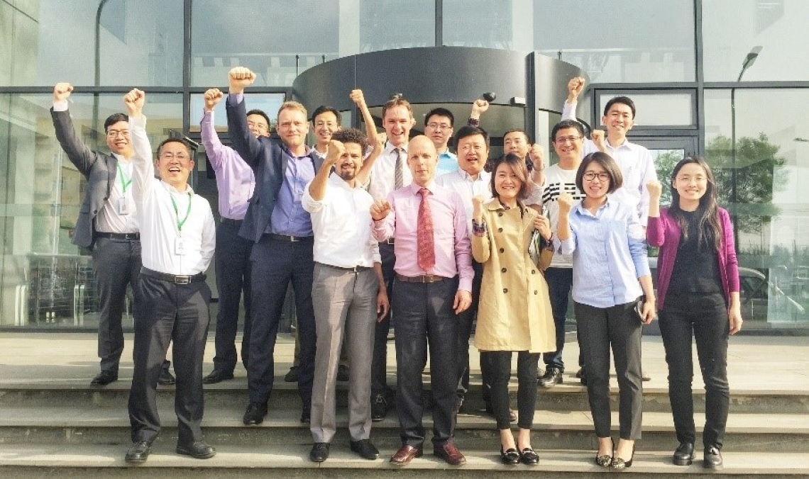 威樂北京工廠順利完成威樂生產體系評估