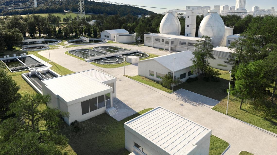 Wilo World - Wastewater treatment - mixer, aeroation system
