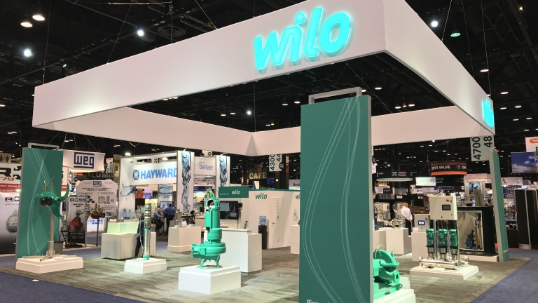 WEFTEC 2017 Booth Display