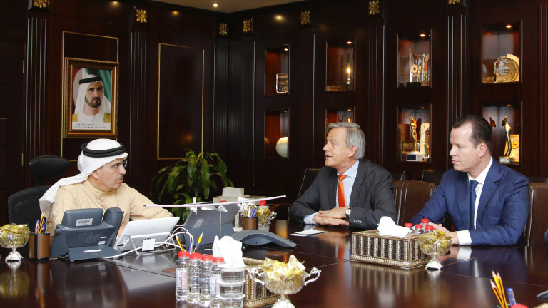 Meeting of Oliver Hermes with Mr. Al Tayer