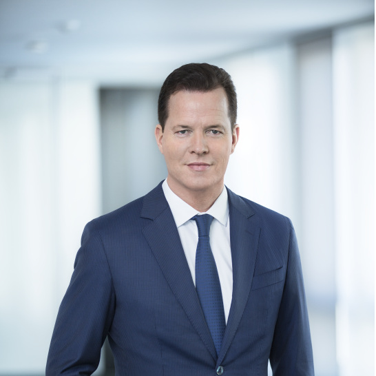 Portrait Oliver Hermes 2018 Chief Executive Officer (CEO) and chairman of the board