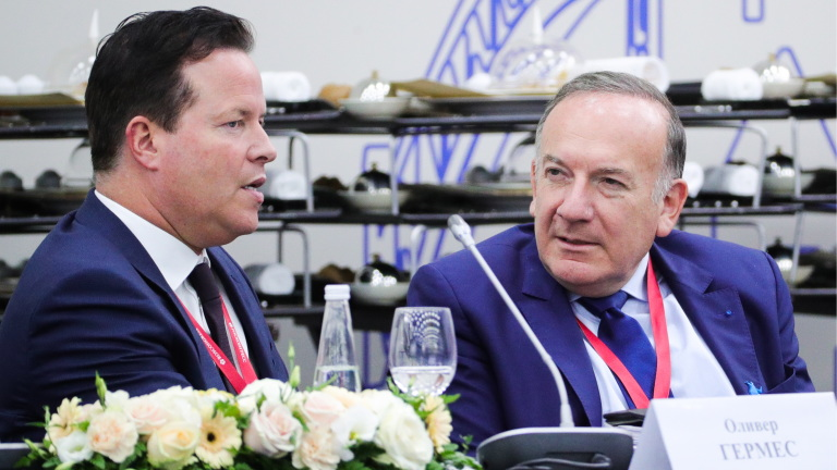 Oliver Hermes SPIEF 2018 in St. Petersburg