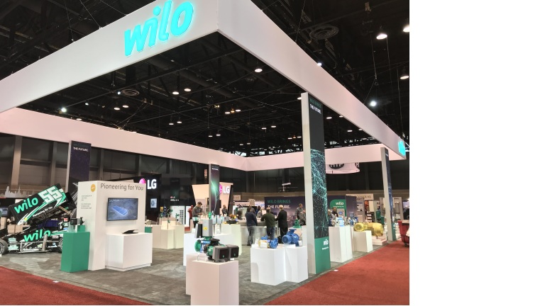 Wilo, Weil and Scot Booth AHR Tradeshow 2018