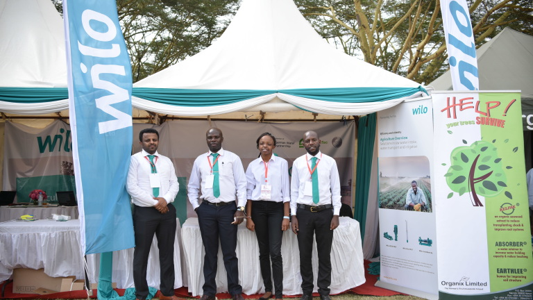 Wilo exhibits in Africa's largest agricultural fair.