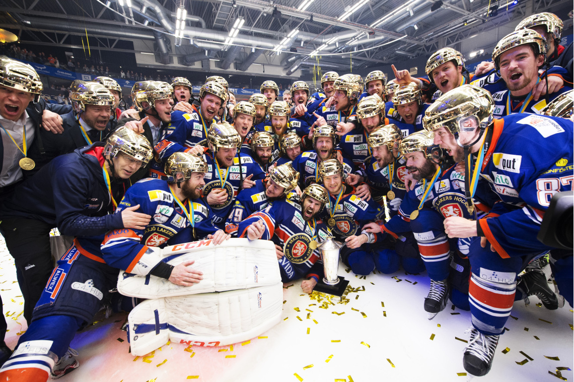 Växjö Lakers Hockey - Swedish Champions 2014/2015