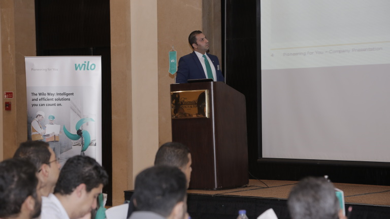 Wilo Customer Seminar - Cairo 2015