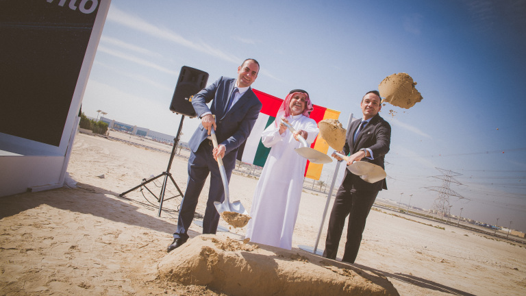 Wilo celebrates start of construction works for its new facility in the Middle East