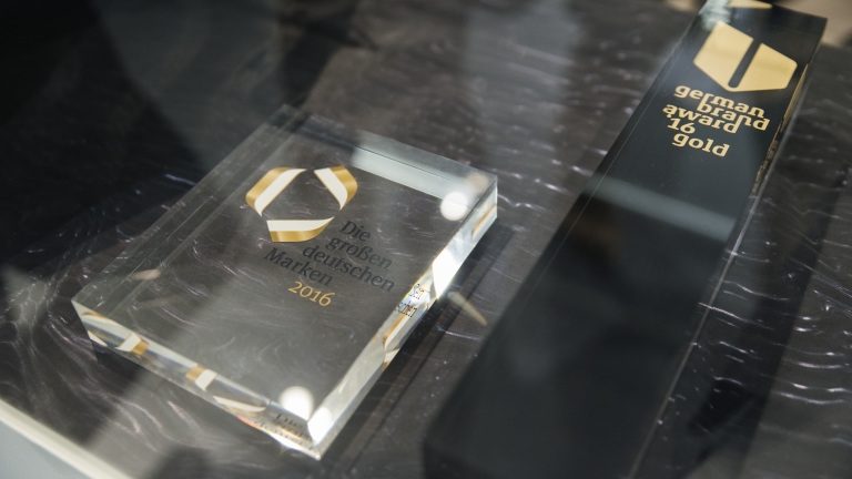 German Brand Award 16 Gold
