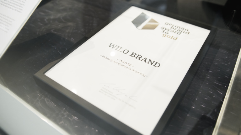 German Brand Award 16 gold Zertifikat
