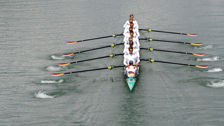 German rowing team